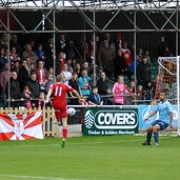 """Whitehawk V Poole Town • <a style=""""font-size:0.8em;"""" href=""""http://www.flickr.com/photos/48059212@N07/21832269574/"""" target=""""_blank"""">View on Flickr</a>"""