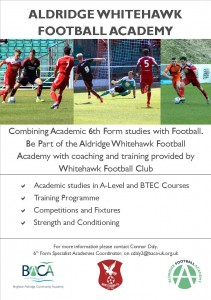 Whitehawk Football Club Flyer Final